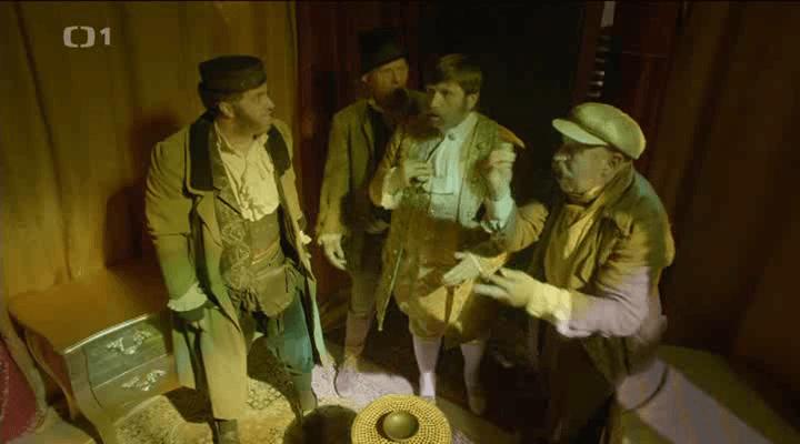 Tři chlapi v pokladnici
