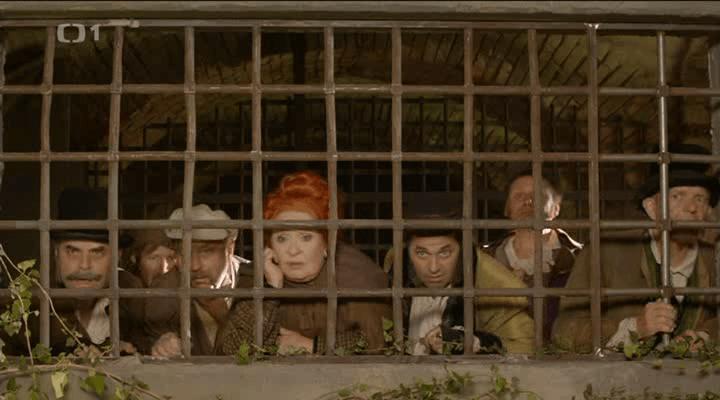 Partička ve vězení s výhledem