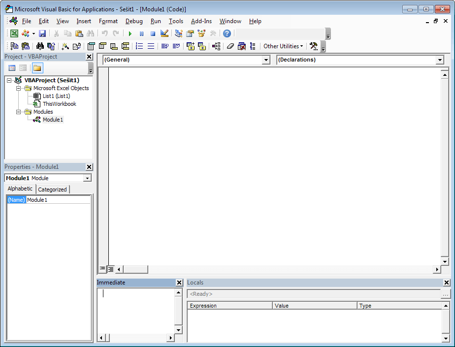 Excel 2013 - editor VBA