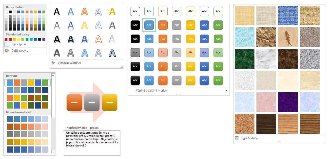 Excel 2013 - barvy