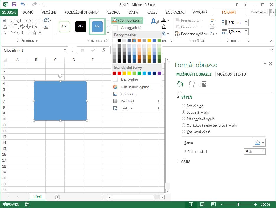 Excel 2013 - schizofrenie