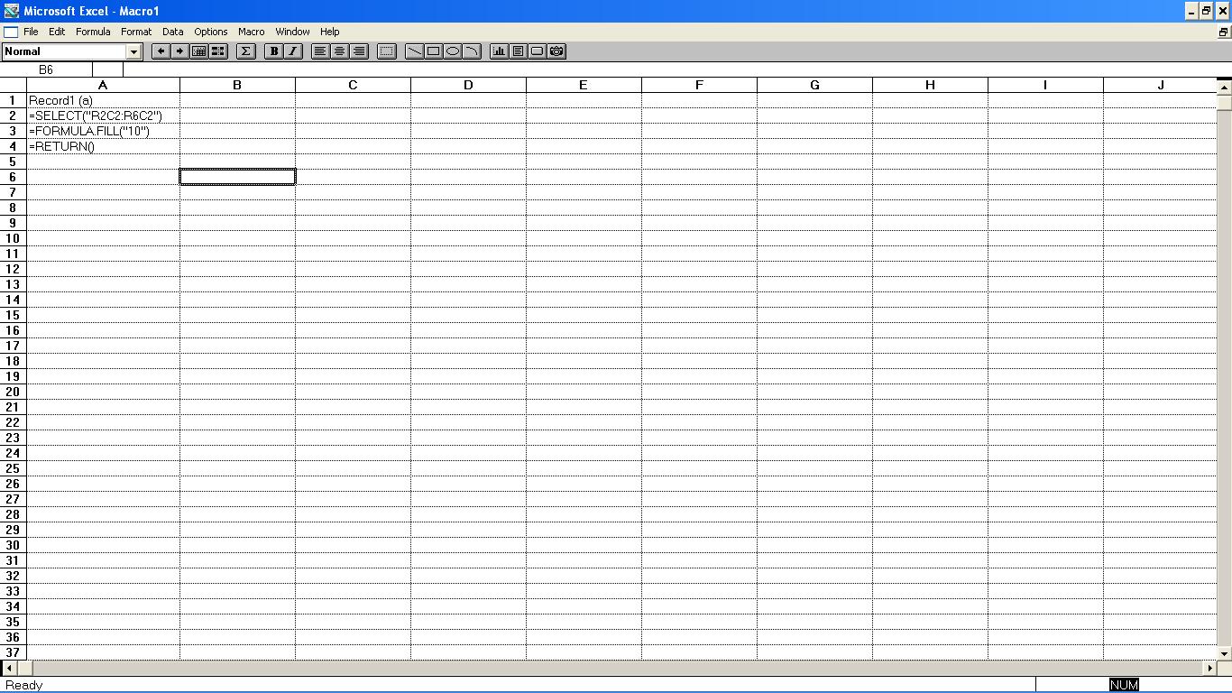 Excel 3 - editor makra