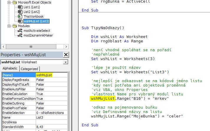 Kódové jméno listu