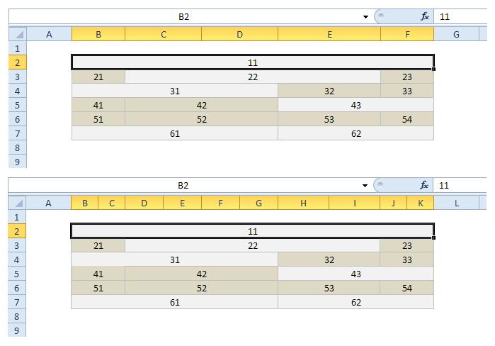 Jemnější rastr - Ukázka 1