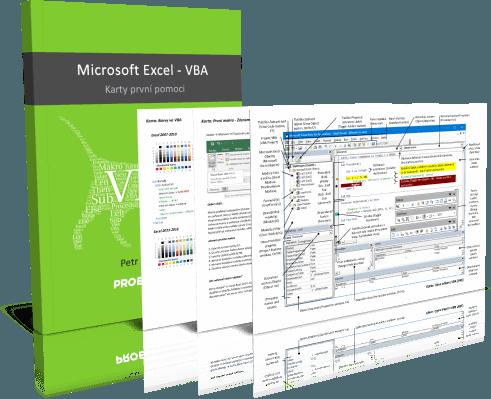 Excel - VBA - karty první pomoci