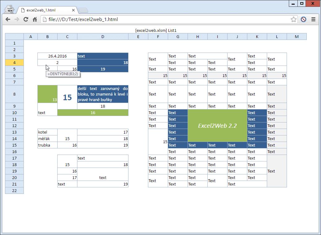 Excel2Web - hlavička, styly, skript (12,3 kB)