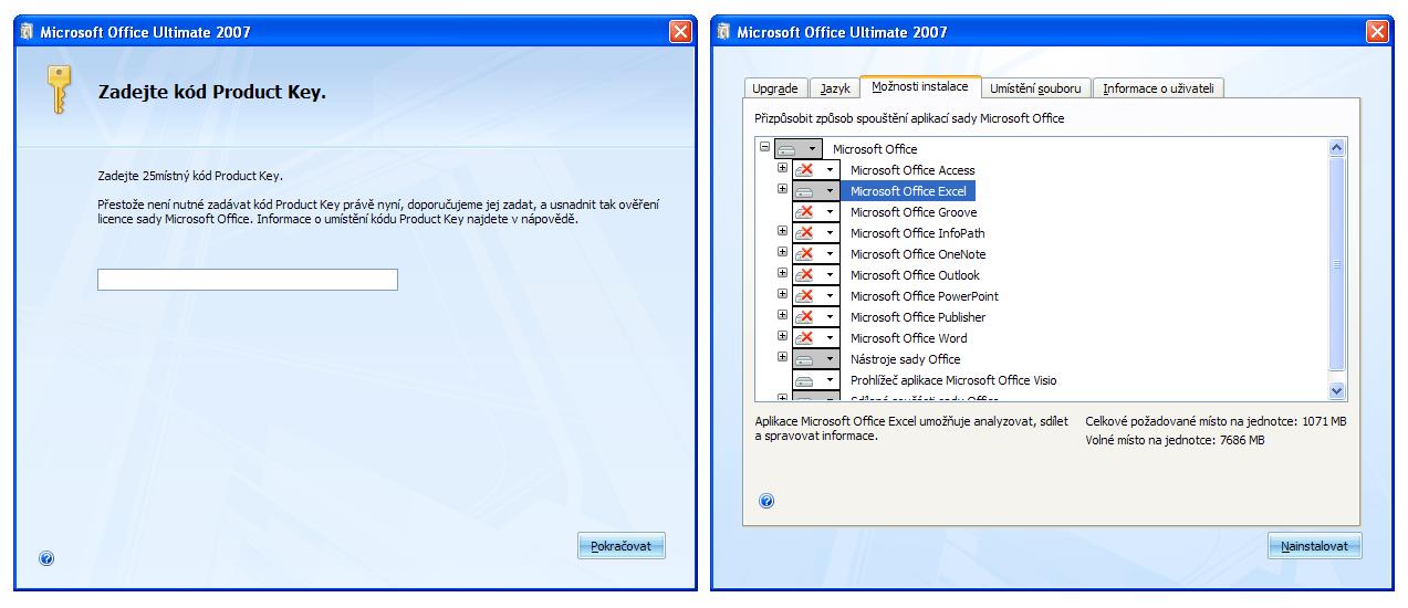 Office 2007 - instalátor
