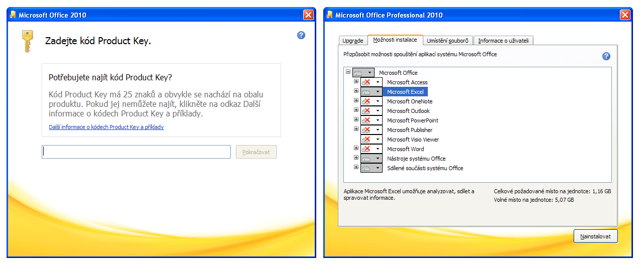 Office 2010 - instalátor