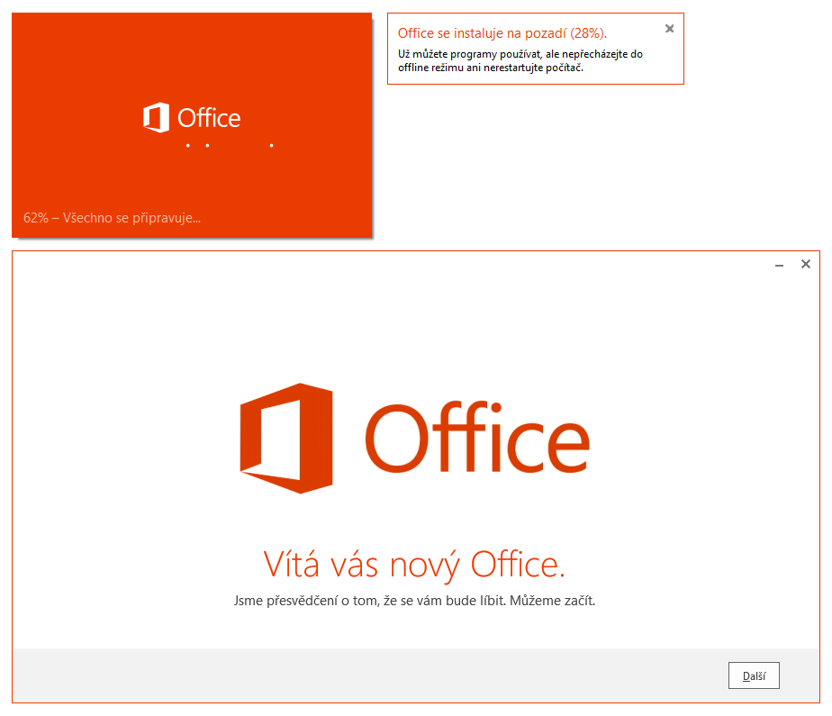 Office 2013 - instalátor