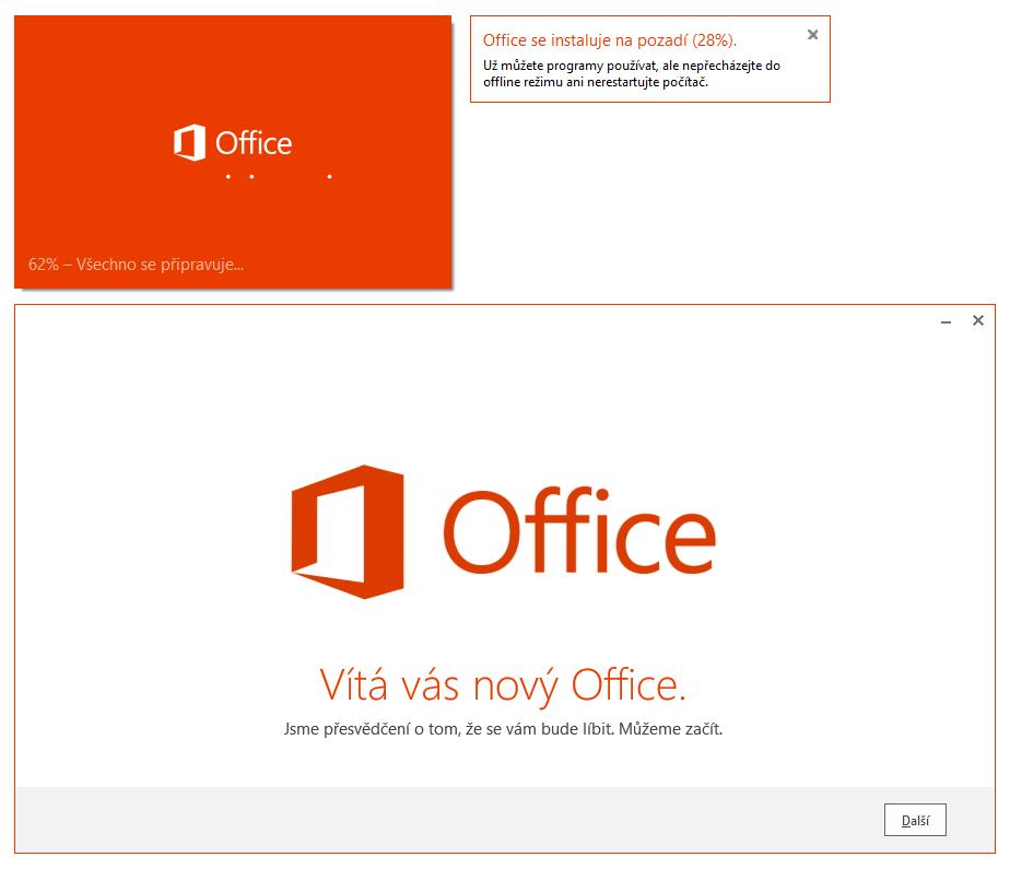Office 2013 - instalátor