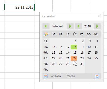 Doplněk Kalendář 3.0