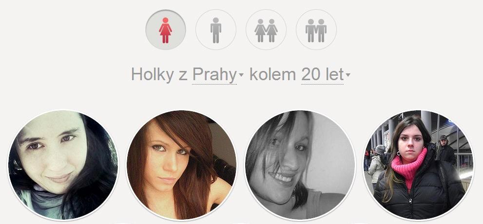Lide.cz - holky z Prahy do 20 let