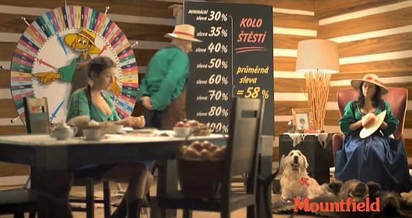 Mountfield - Kolo štěstí 2014 - reklamní spot