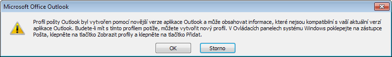 Downgrade Microsoft Outlook 2010 na 2007
