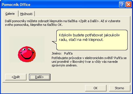 Pomocník v Office XP