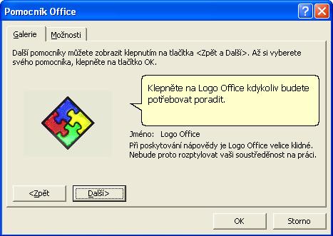 Pomocník v Office XP