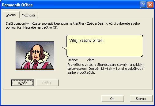 Pomocník v Office 97