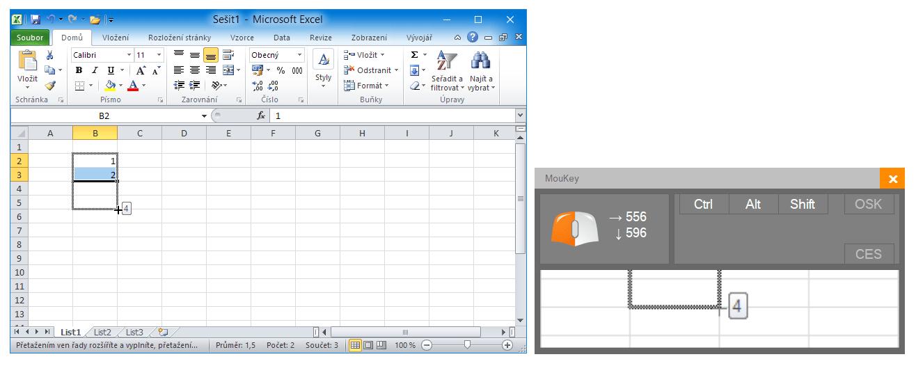 MouKey - softwarová lupa pro lektory v akci