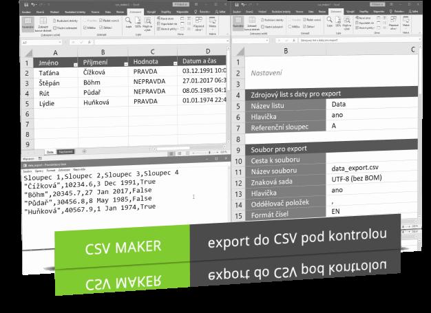 Náhled produktu - CSV Maker
