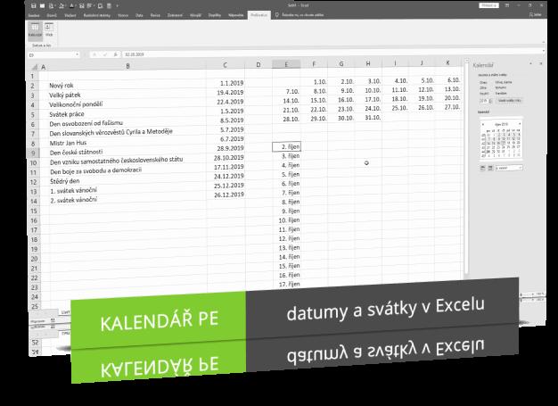 Náhled produktu - Kalendář PE