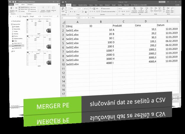 Náhled produktu - Merger PE