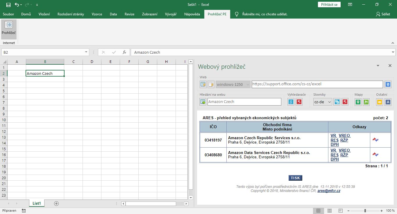 Prohlížeč PE