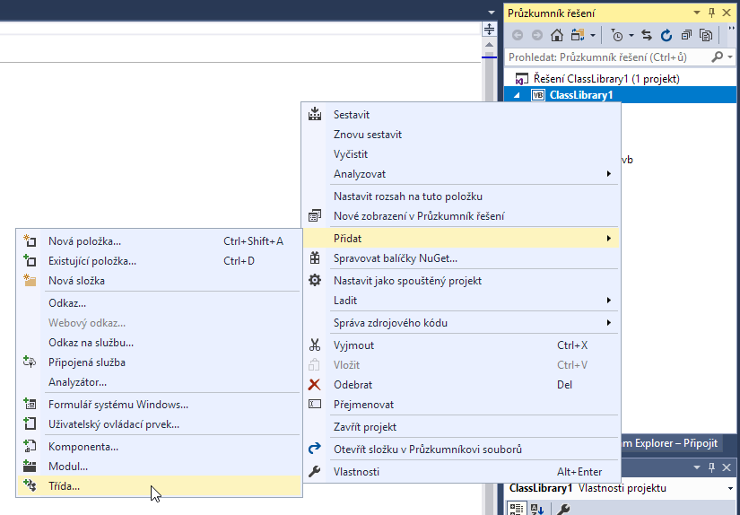 Visual Basic - třída COM